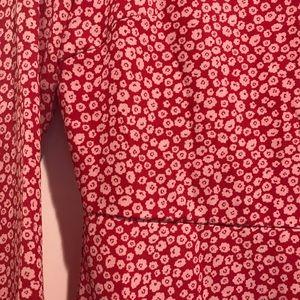ASOS Red Floral Maxi Dress